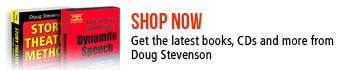Shop Now for the latest books, CDs and more from Doug Stevenson