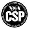 National Speakers Association - Certified Speaking Professional