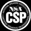 National Speakers Association - Certified Speaking Professional