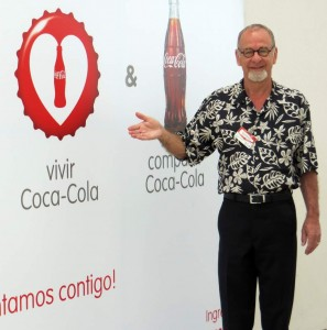 Doug Stevenson trains on storytelling at Coca Cola in Costa Rica