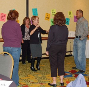 Doug Stevenson makes storytelling in business training interactive and fun